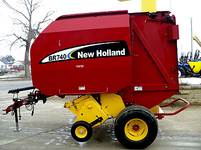 Round Baler Cover