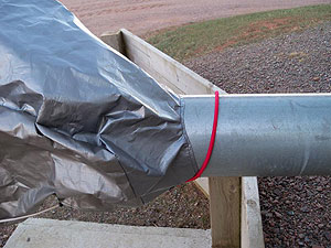Grain Auger Hopper Cover